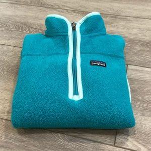 Patagonia Girls Fleece Pullover Sweatshirt Sz 10